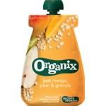 Organix Mango, Pear & Granola Klämpåse 100 g