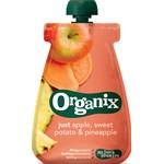 Organix Apple, Sweet Potato & Pineapple Klämpåse 100 g