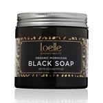 Loelle Maroccan Black Soap With Eucalyptus 200g