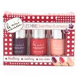 Le Mini Macaron Les Minis Manicure Set Berries & Cream 3x5ml