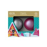 Eos Winter Collection Organic Lip Balm 2-pack