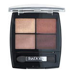 Isadora Eye Shadow Quartet Boho Browns 5 g