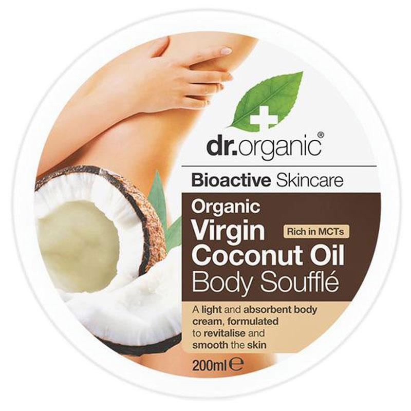Dr.Organic Virgin Coconut Oil Body Soufflé 200 ml