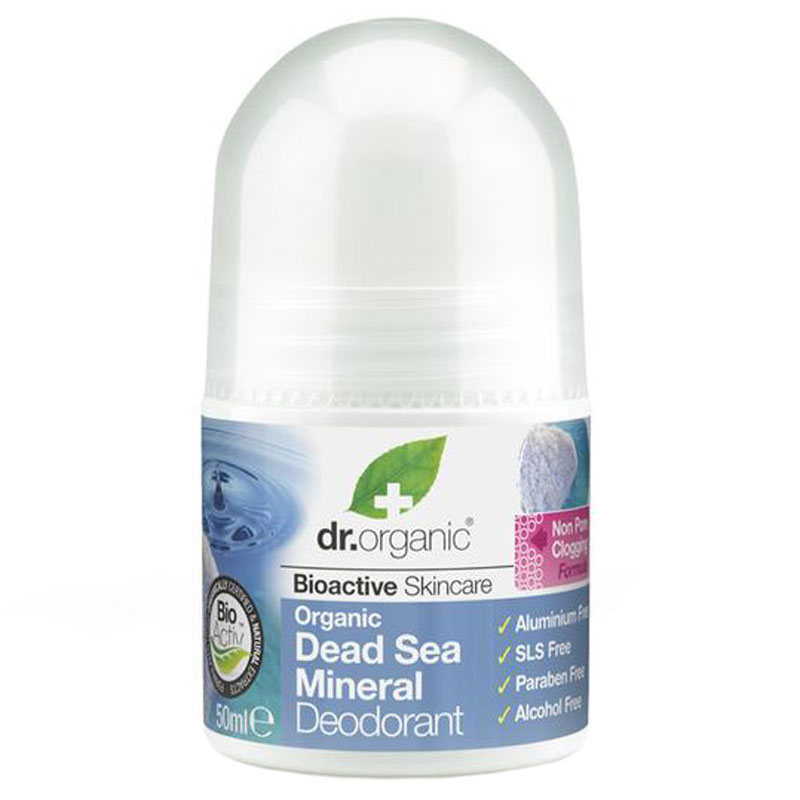 Dr.Organic Dead Sea Mineral Deodorant 50 ml