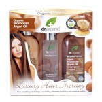 Dr.Organic Morroccan Argan Oil Luxury Hair Therapy Kit