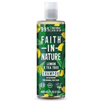 Faith in Nature Schampoo Lemon & Tea Tree 400 ml