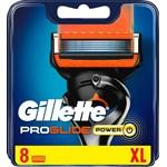 Gillette Proglide Power Rakblad för män 8-pack