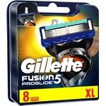 Gillette Proglide Manual Rakblad för män 8-pack