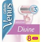 Venus Divine Sensitive Rakblad för kvinnor 8-pack