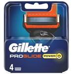 Gillette Proglide Power Rakblad för män 4-pack