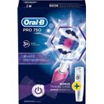 Oral-B Pro 750 Eltandborste Rosa