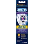 Oral-B 3D White Borsthuvud Refill 4-pack