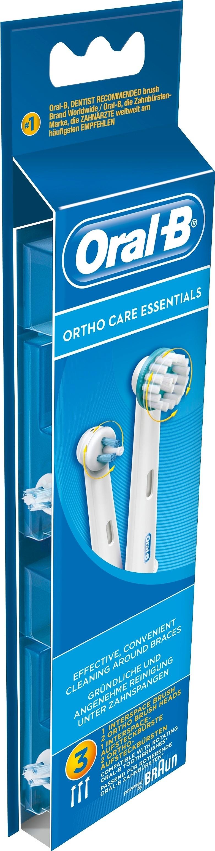 Oral-B Ortho Care Essentials Borsthuvud Refill 3-pack - Apotek Hjärtat e09a6b2ea417d
