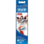 Oral-B Stages Power Star Wars Borsthuvud Refill 4-pack