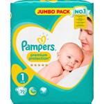 Pampers New Baby Blöjor stl 1, 2-5 kg 72 st