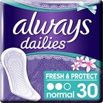 Always Dailies Fresh & Protect Fresh Scent trosskydd 30 st