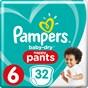 Pampers Baby-Dry Pants Byxblöjor stl 6, 15+ kg 32 st