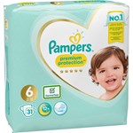 Pampers Premium Protection Blöjor stl 6, 13+ kg 31 st
