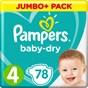Pampers Baby-Dry Blöjor stl 4, 9-14 kg 78 st