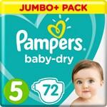 Pampers Baby-Dry Blöjor stl 5, 11-16 kg 72 st