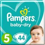 Pampers Baby-Dry Blöjor stl 5, 11-16 kg 44 st