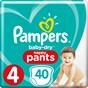 Pampers Baby-Dry Pants Byxblöjor stl 4,  9-15 kg 40 st