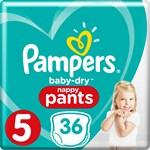 Pampers Baby-Dry Pants Byxblöjor stl 5, 12-17 kg 36 st