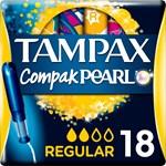 Tampax Pearl Compak Tamponger Applikator 18-pack