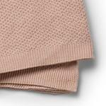 Elodie Details Mosstickad Filt Powder Pink