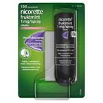Nicorette Fruktmint Munhålespray, lösning 1mg/spray Sprayflaska, 150sprayningar