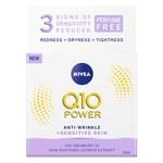 Nivea Q10 Plus Power Anti-Wrinkle Sensitive Day 50 ml