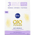 Nivea Q10 Plus Power Anti-Wrinkle Sensitive Day 50 ml