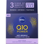Nivea Q10 Plus Power Anti-Wrinkle Sensitive Night 50 ml