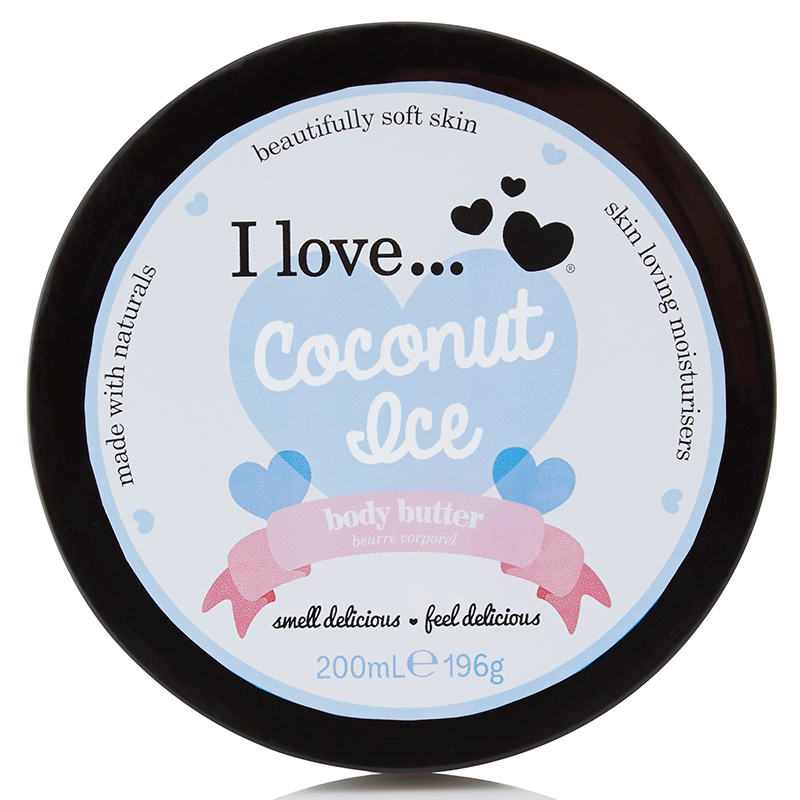 I Love... Coconut Ice Body Butter 200 ml