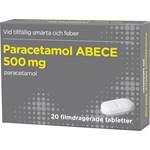Paracetamol ABECE filmdragerad tablett 500 mg 20 st