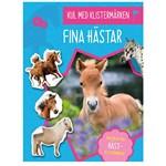 Kul med Klistermärken Fina Hästar