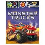Monstertrucks Pysselbok med Klistermärken