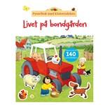 Livet På Bondgården Pysselbok med Klistermärken