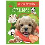 Kul med Klistermärken Söta Hundar