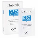 Nannic QC Deo Wet Wipes 10 st