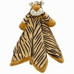 Teddykompaniet Diinglisar Wild Snuttefilt Tiger