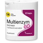 Multienzym GO 25 kapslar