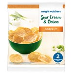 ViktVäktarna Sour Cream & Onion chips 20 g