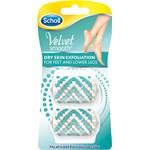 Scholl Velvet Refill fotfil Dry Skin Exfoliation 2 st