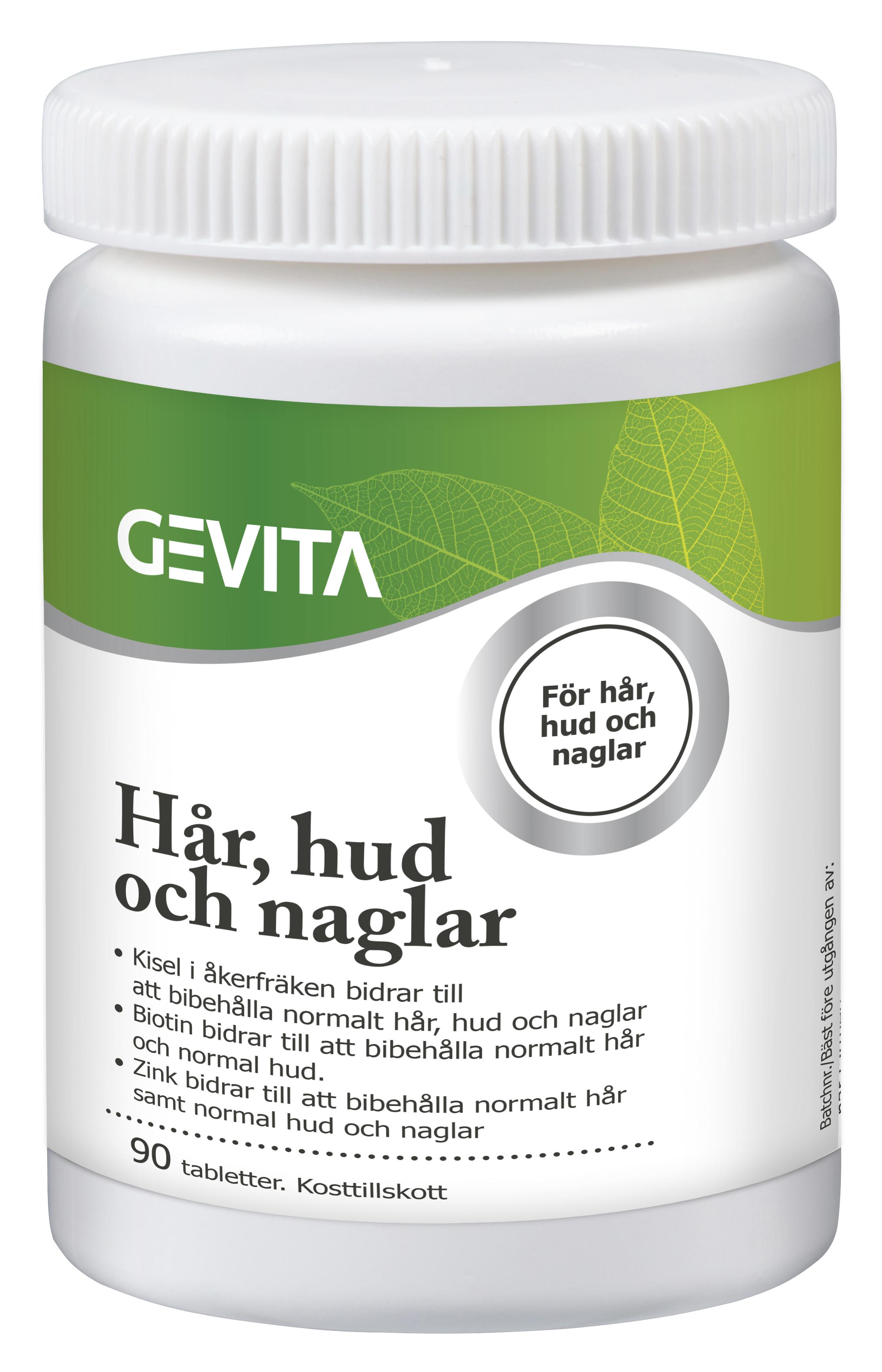 tabletter för hår