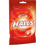 Halls Strawberry Sockerfri 65 g