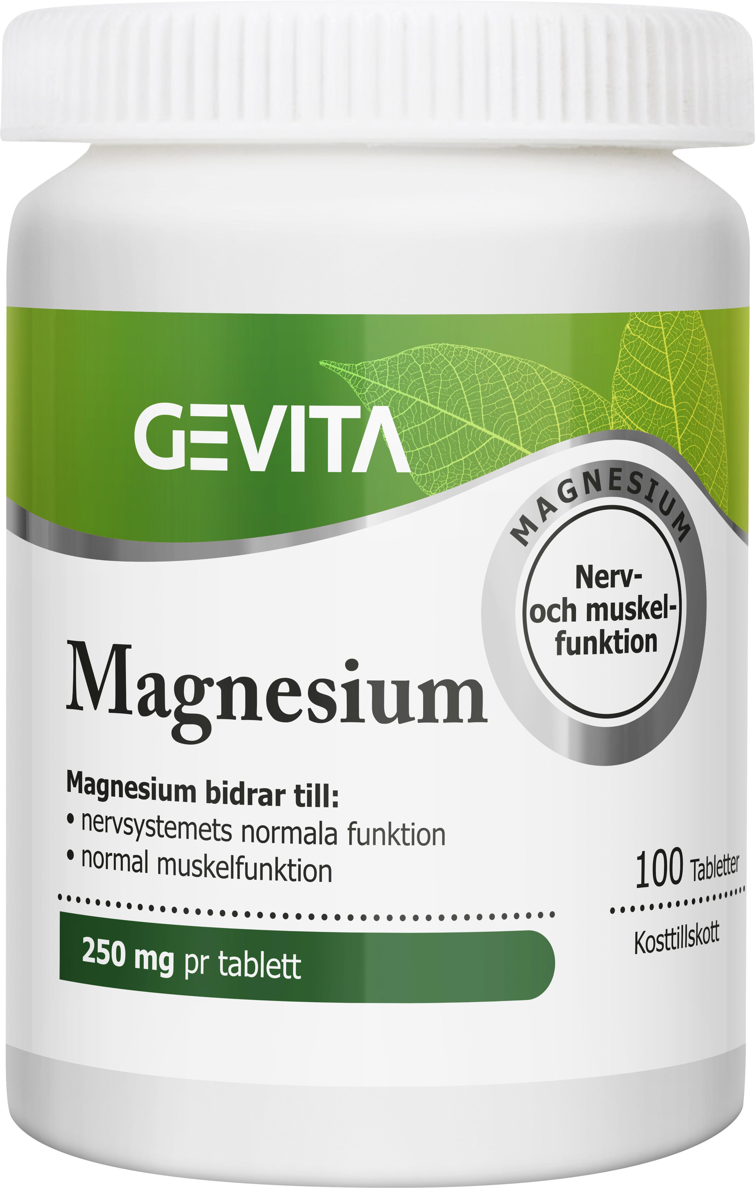 hur snabbt verkar magnesiumtillskott