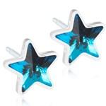 Blomdahl Örhängen Star Aquamarine 6 mm