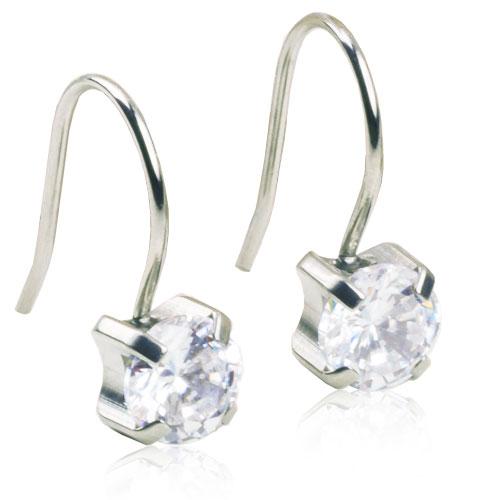 Blomdahl Örhängen Tiffany CZ White Silver - Apotek Hjärtat dd7356c732dcf