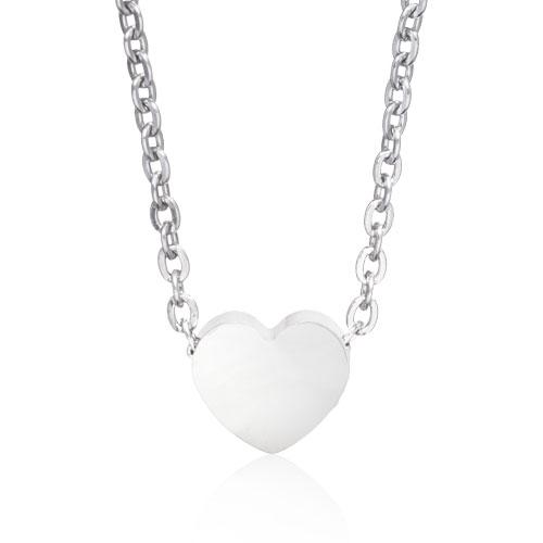 Blomdahl Halsband Silver Heart